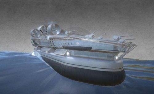 Ship Sea Scene Animated