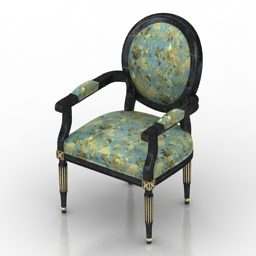 Antique Armchair Louis Xvi Design