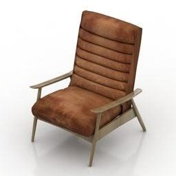 Furniture Armchair Vintage Leather