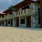 Edificio Residencial Chino Típico