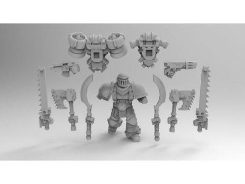 Assalto Marine Builder Personagens