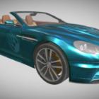 Coche convertible Aston Martin