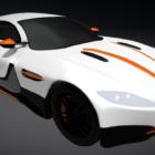 Coche deportivo Aston Martin Db9