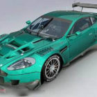 Cyan Aston Martin Dbr9 Coche