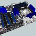 Pc Asus P6t6 Placa Madre