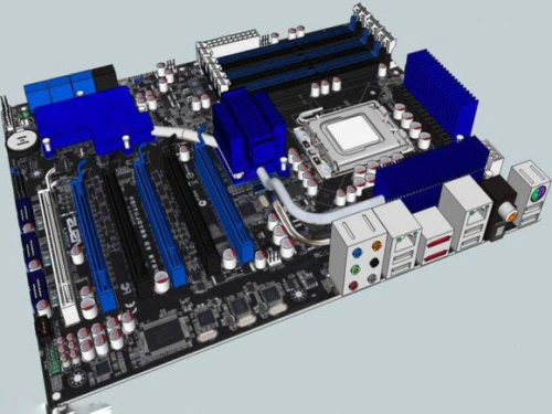Pc Asus P6t6 Motherboard