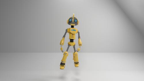 Atom Optimist Robot Carácter