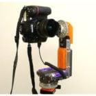 प्रिंट करने योग्य पैनोरमा डीएसएलआर कैमरा हेड