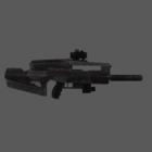 Auto Rifle Gun Weapon