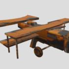 Old Vintage Airplane