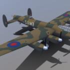 Airplane Avro Lancaster