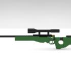 Army Awm Sniper Gun