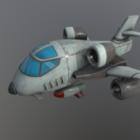 Cartoon B1 Aircraft