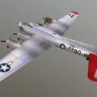 B17 Airplane Flying Fortress