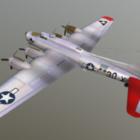 B17 طائرة تحلق القلعة