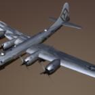 Militär B29 flygplan