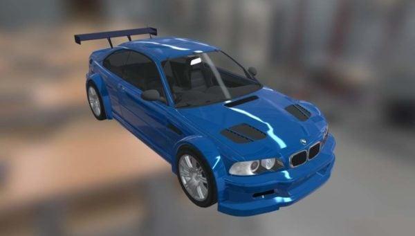Auton Bmw M3 Gtr