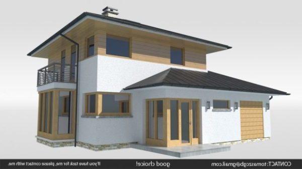 Modern Bambo House