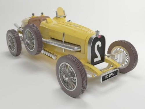 Carro antigo Bugatti