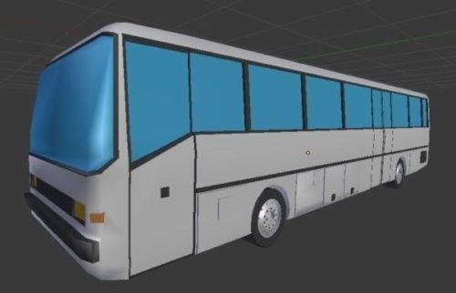 تصميم حافلة بسيطة