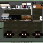 カフェショップハウスビル