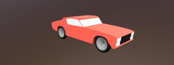 Lowpoly Peli Car Kree
