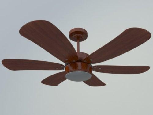 Wooden Style Ceiling Fan