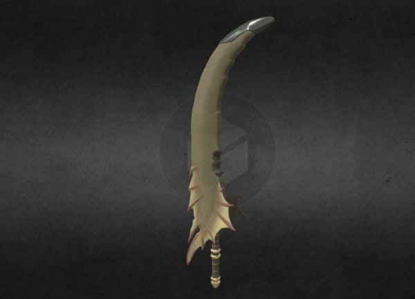 Pitkä miekka-ase
