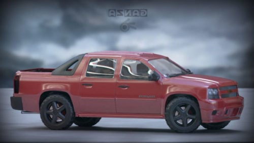 Chevrolet-lumivyöryauto