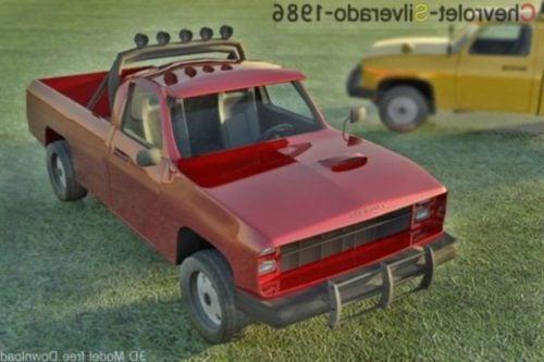 Chevrolet Jeep Silverado 1986