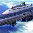 Gallactic Cruiser ruimteschip