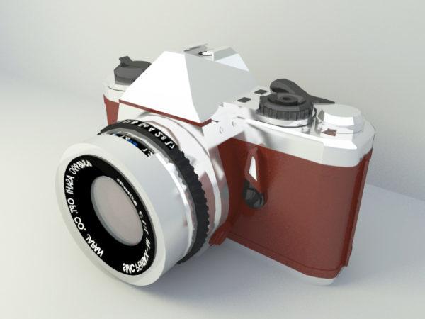 الكاميرا الكلاسيكية القديمة