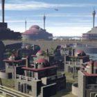Bâtiment du secteur de la colonie