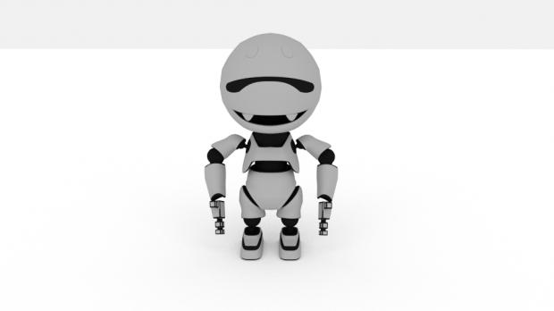 Diseño de robot conceptual