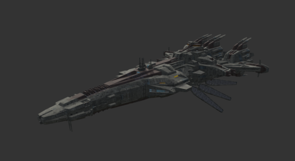 Sci-fi Alien Crucero -alusta