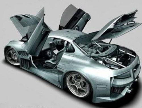 Cyborx سيارة 10xll