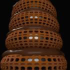 بناء دونات الشكل