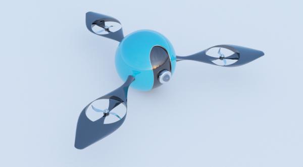 الخيال العلمي مفهوم الطائرات بدون طيار