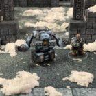Dwarven Mining Robot Character