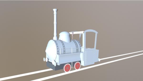 إيما قاطرة القطار