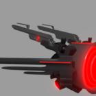 الشر الطائرة بدون طيار الخيال العلمي الطائرة