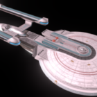 Kosmická loď Excelsior Sci-fi