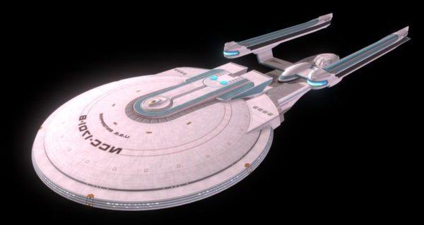 اكسلسيور إنتربرايز الخيال العلمي سفينة الفضاء