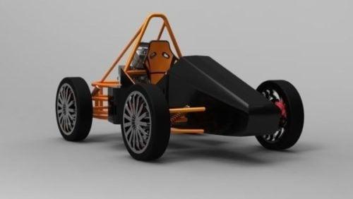 Concepto de coche F1
