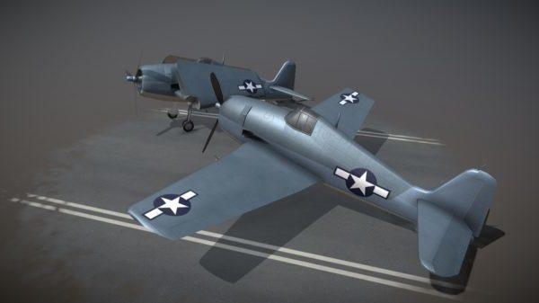 Aviones F6f