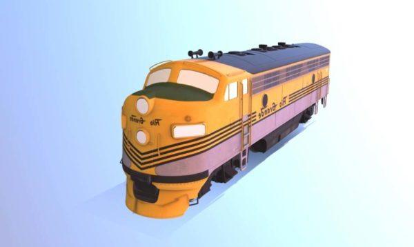 Länsi rautatie Drgw-juna