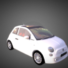 Mini Car Fiat 500