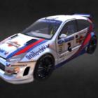سباق السيارات فورد فوكس Wrc