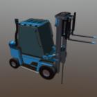 كلاركات Lowpoly شاحنة الصناعية