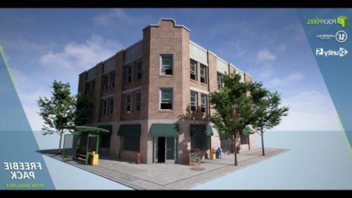 مبنى مكتب ركن المدينة